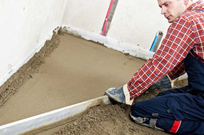 Concrete Floor Screeding